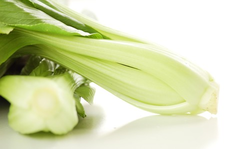 Bok Choy (Pak Choi)    This graceful vegetable with Chinese origins has spread throughout Asia and beyond photo