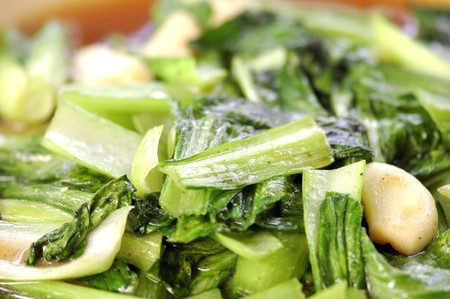 throughout: Bok Choy (Pak Choi)    This graceful vegetable with Chinese origins has spread throughout Asia and beyond