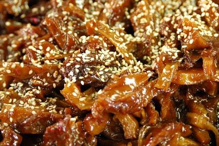 phuket food: Vegetarian food imitation from fried fish