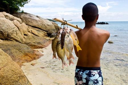 fishing cabin: Sea Gypsies and andaman fish