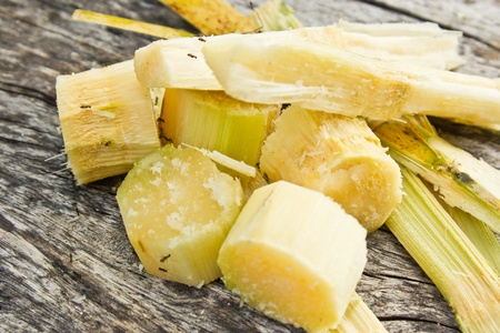 sucrose: sugar cane Stock Photo