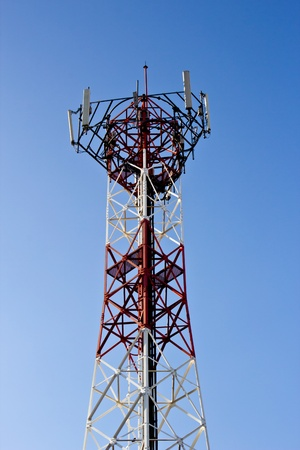 Tower for radio mobile telecommunication aerial antenna  photo