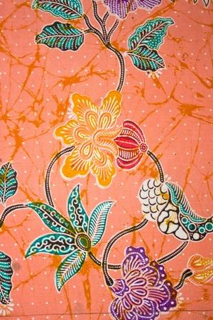 Vintage thaï traditionnel fond texture de tissu à la main