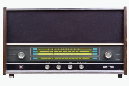 retro radio: Old radio
