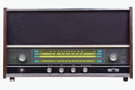 Vieux poste de radio Banque d'images