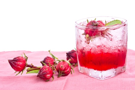 roselle cocktail  photo