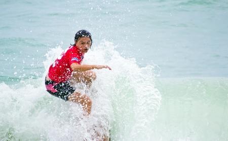 rankings: Anissa Flynn ASC rankings leader winner of Women s Division 2012 Asian Surfing Championshipa