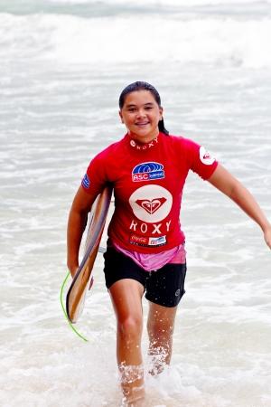Anissa Flynn ASC rankings leader winner of Women s Division 2012 Asian Surfing Championship