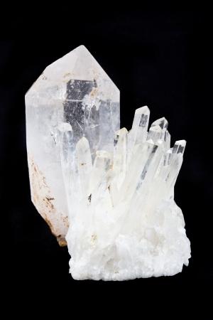 igneous: Quartz crystals