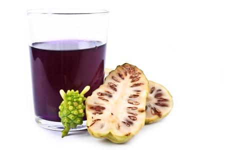 morinda: Noni fruits  Morinda Citrifolia  Stock Photo