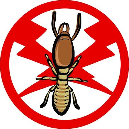 insect repellent: termites insect repellent emblem