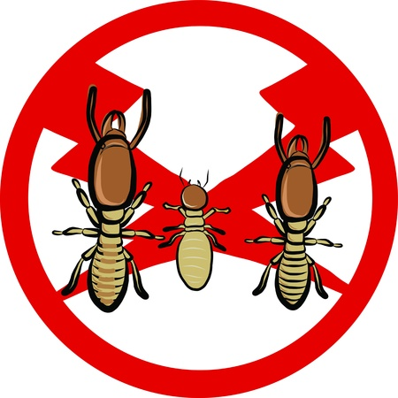 nuisance: termites insect repellent emblem