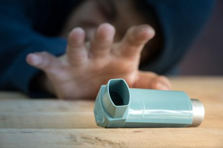 pacientes: Los pacientes necesitan usar inhalador para el asma
