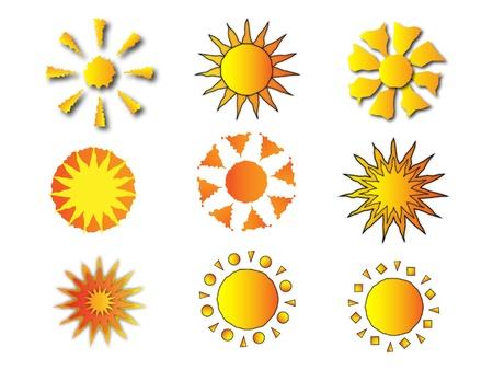 logo marketing: Sun Logos