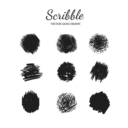 Scribble pattern.