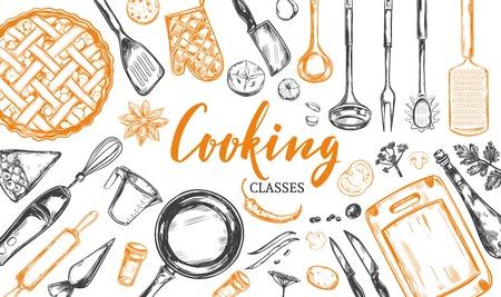Cooking concept. Frame 2 Illustration