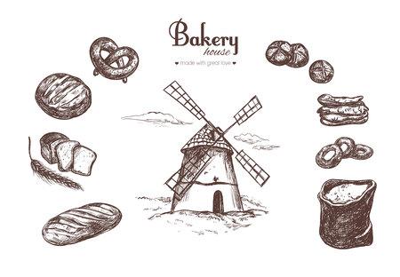 Bakery shop set 4