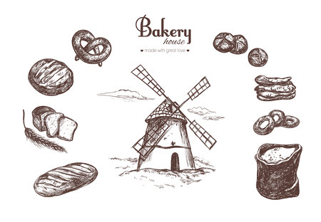 Bakery shop set 4