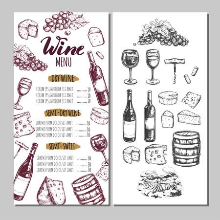 Wine Restaurant Menu 6