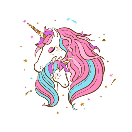Unicorn family. Love. Magic. Dream 3