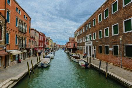 murano: Canals of Murano, Venice