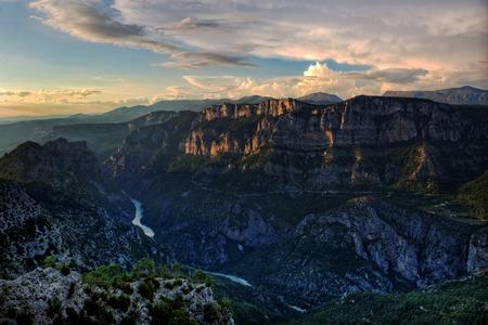 gorges: Serene mountain views Stock Photo