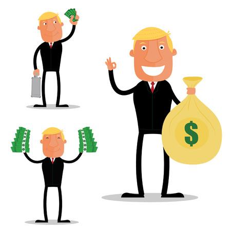 rentable: El hombre de negocios rentables