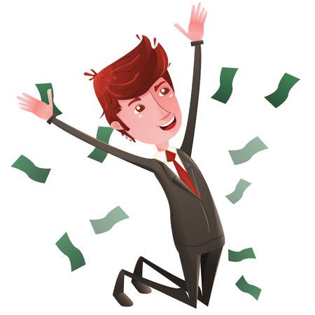 joking: Free businessman Illustration