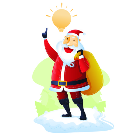 merry chrismas: Santa have an idea