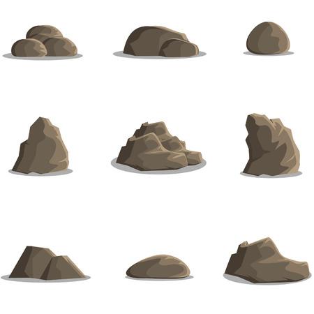 large formation: The Rocks Illustration