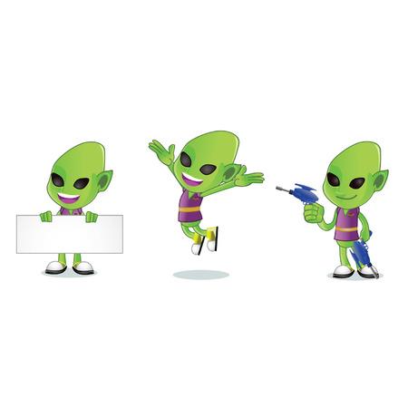 Alien 1 Ilustracja