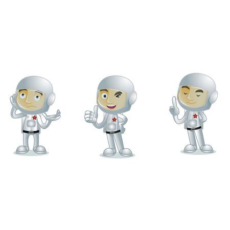 Astronaut 2 Illusztráció