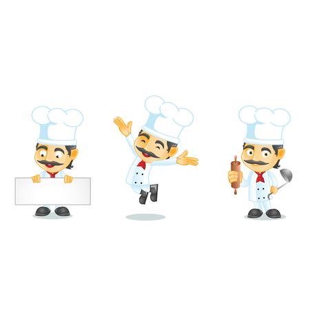 culinary skills: Chef 1 Illustration