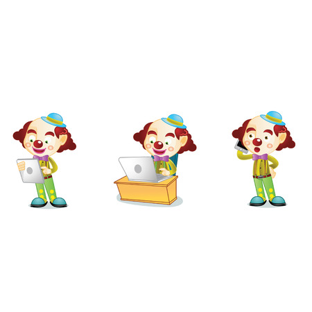 Clown 3 Ilustração