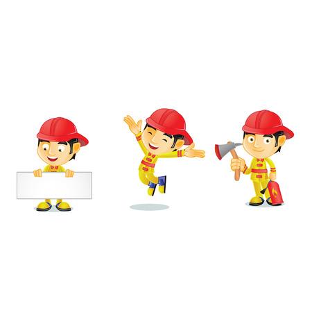 Fireman 1 Illustration