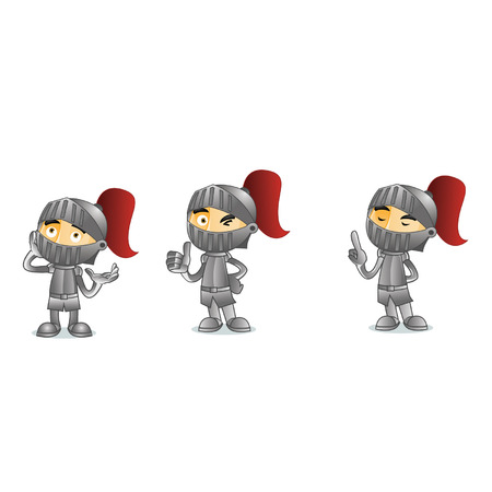 paladin: Knight Mascot Illustration