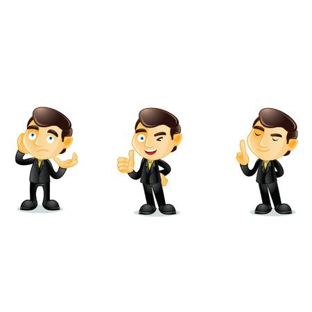 Lawyer Mascot  Illustration