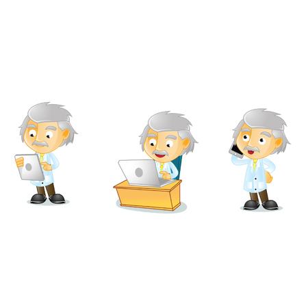 Mr Genius Mascot