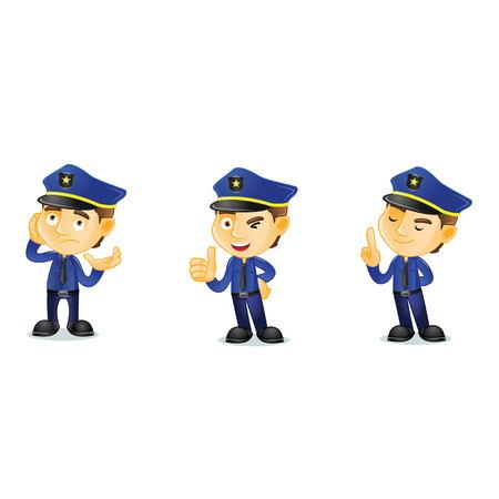 arrogant: Policeman Mascot