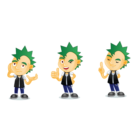 life style people: Punk Mascot