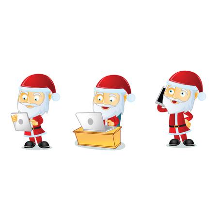 oldman: Santa Mascot
