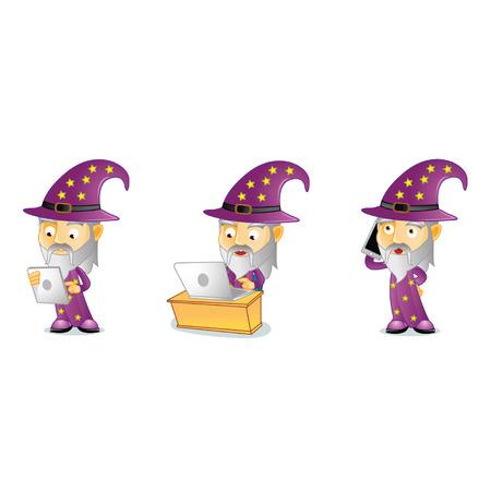 Wizard Mascot
