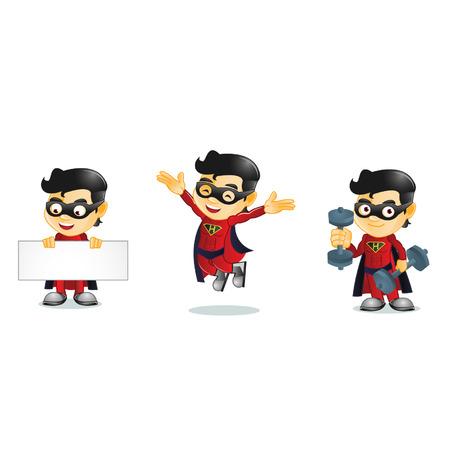 Superhero Illusztráció