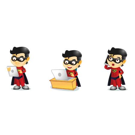 Superhero Ilustrace