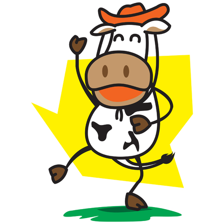 Cowboys Cow