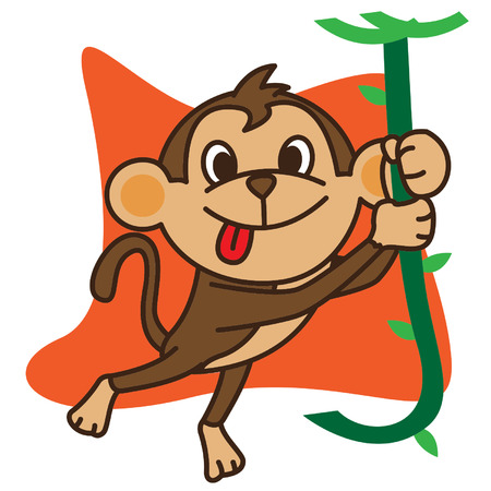 swinging: Monkey Swinging