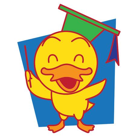 mr: Mr Duck Illustration