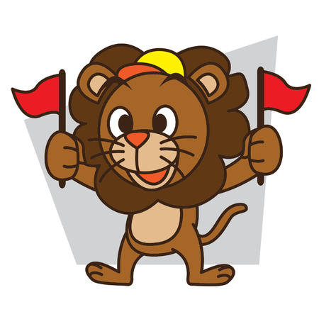 Supporters Lion 矢量图像