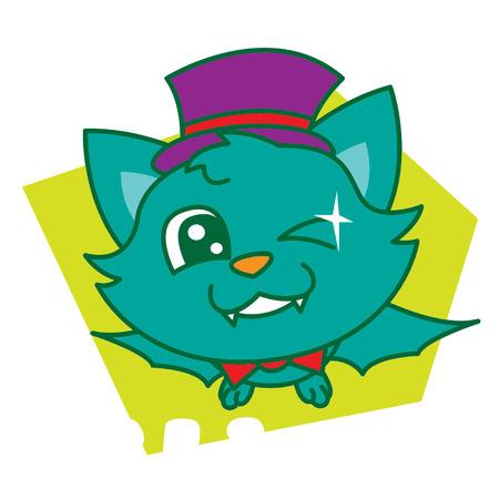 flaying: Green Bat