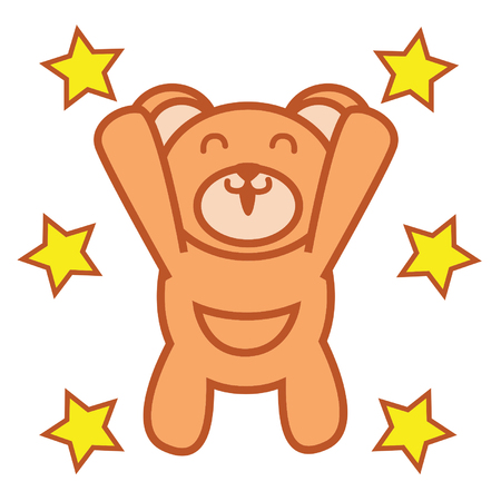 baby bear: Baby Bear Illustration